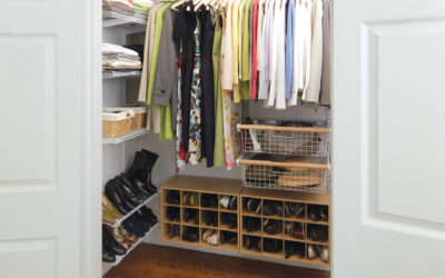 A Dozen Ways to Maximize Closet Space in Time for Spring Cleaning